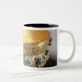 Embossed bowl set Two-Tone coffee mug