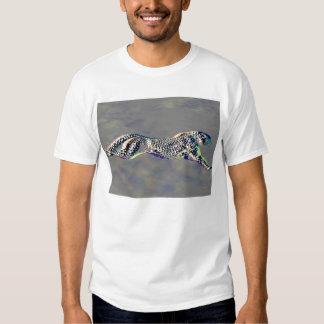 Embossed Cheetah  Tee Shirt