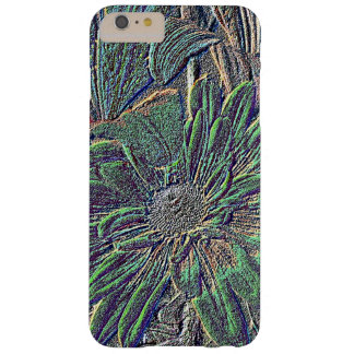 Embossed Color Flower Barely There iPhone 6 Plus Case