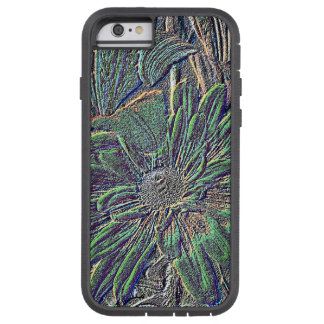 Embossed Color Flower Tough Xtreme iPhone 6 Case