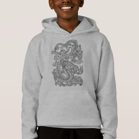 Embossed Dragon T Shirt