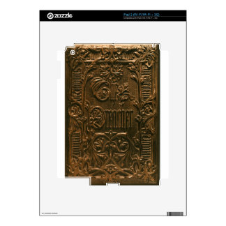 EMBOSSED EUROPEAN VINTAGE DESIGN DECAL FOR THE iPad 2