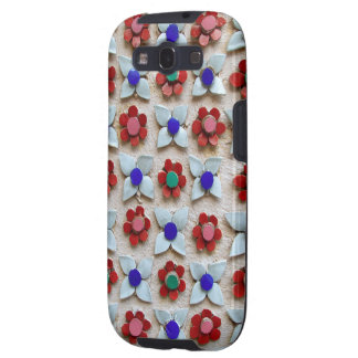 Embossed Floral Design Samsung Galaxy S3 Cases