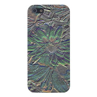 Embossed Flower iPhone 5 Cases For iPhone 5