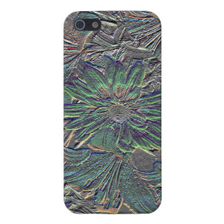 Embossed Flower iPhone 5 iPhone SE/5/5s Cover