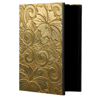 Embossed Gold Cover For iPad Air