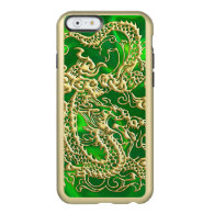 Embossed Gold Dragon on Green Satin Print Incipio Feather&#174; Shine iPhone 6 Case (<em>$61.00</em>)