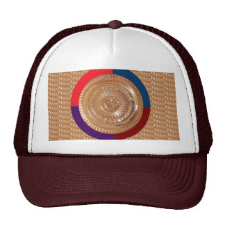 Embossed GoldFoil OMmantra mantra Chant Yoga Shirt Hat