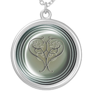 Embossed Heart Necklace
