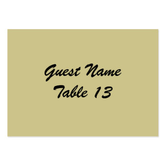 Embossed Heart Vintage Wedding Table Number Card Business Card Template