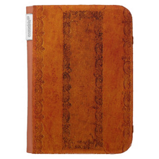 Embossed Leather book cover Kindle Cases