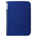 Embossed Leather book cover Case For Kindle
