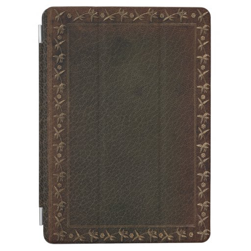 Embossed Leather book cover iPad Air Cover
