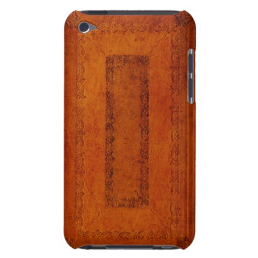 Embossed Leather book cover iPod Touch Case
