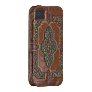 Embossed Leather Look case iPhone 4/4S Covers