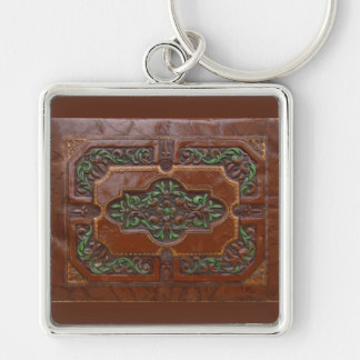 Embossed Leather Look ~ keychain