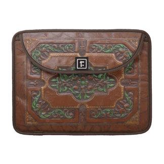 Embossed Leather Look ~ MacBook Flap Sleeve