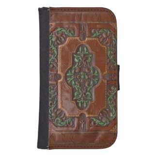 Embossed Leather Look ~ Phone wallet
