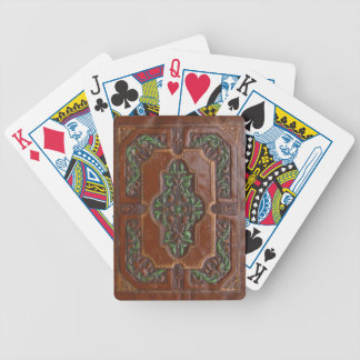 Embossed Leather Look ~ Playing Cards
