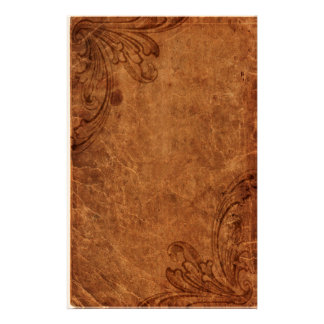 Embossed Leather Look   Stationery