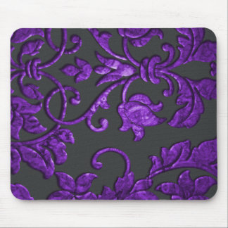 Embossed Look Damask Mouse Pad