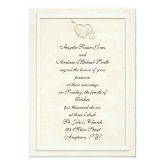 Embossed Wedding Invitations Announcements Zazzle