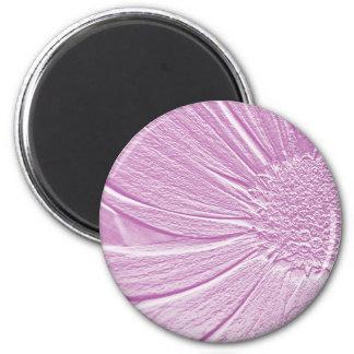 Embossed Look Lavender Flower Magnet