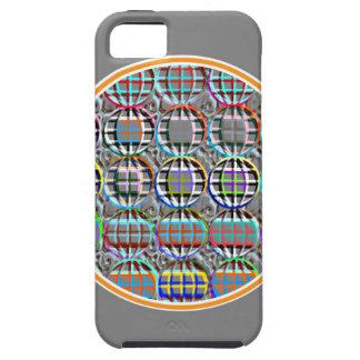 Embossed look Round Circle Art iPhone SE/5/5s Case