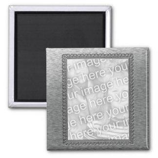 Embossed Metal Frame Magnet