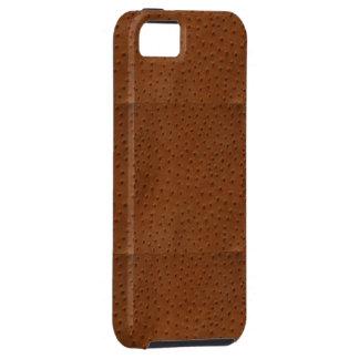 EMBOSSED OSTRICH SKIN DESIGN iPhone SE/5/5s CASE