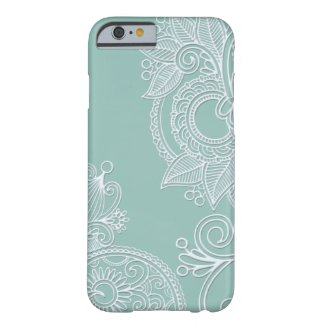 Embossed Paisley iPhone 5 Case iPhone 6 Case