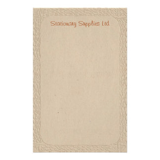 Embossed Recycled Stationary Stationery