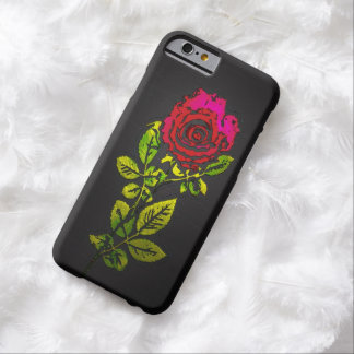"""""""Embossed"""" Rose Leather Effect iPhone 6 Case"""