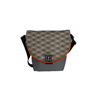 Embossed rubber mini messenger bag #2