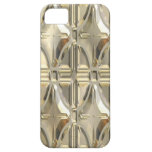 Embossed Silvery Gold iPhone 5 Cover
