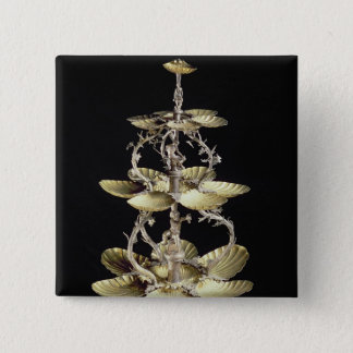 Embossed table centrepiece button