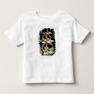 Embossed table centrepiece toddler t-shirt