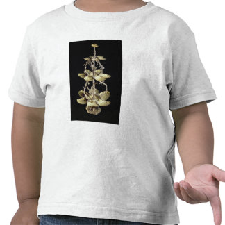 Embossed table centrepiece tee shirts