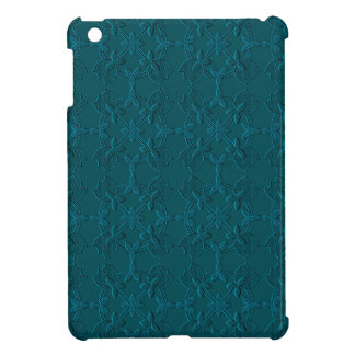Embossed Tulip Applique TEAL iPad Mini iPad Mini Covers