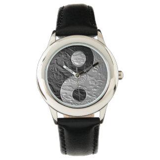 Embossed Yin Yang Dragon Watches