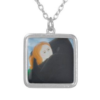 Embrace 2011 silver plated necklace