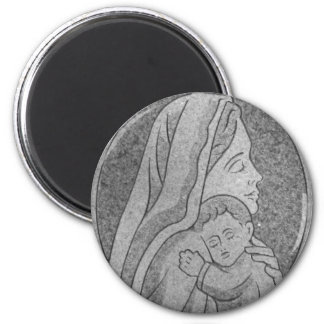 Embrace 2 Inch Round Magnet