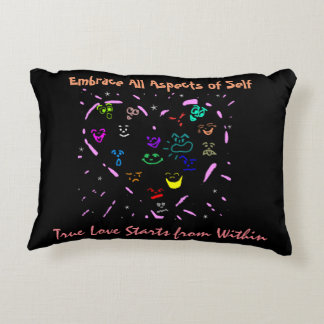 """""""Embrace All Aspects of Self"""" Accent Pillow"""