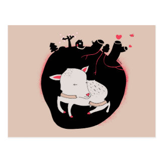 Embrace Animals Postcard