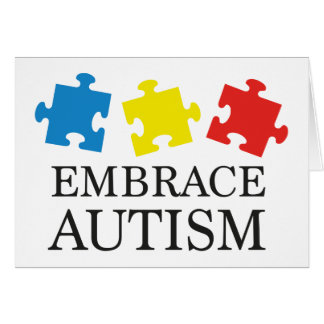 Embrace Autism Card