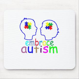 Embrace Autism . Mouse Pad