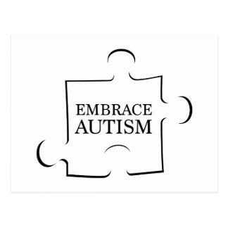 Embrace Autism Postcard
