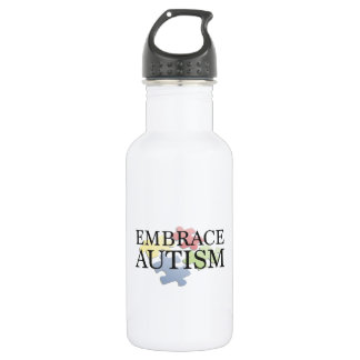 Embrace Autism Stainless Steel Water Bottle