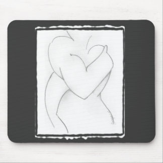 Embrace (baby shower) Add your own color Mouse Pad