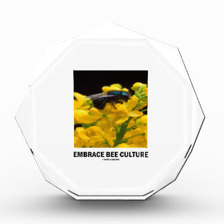 Embrace Bee Culture (Bee On Barberry Flower) Awards